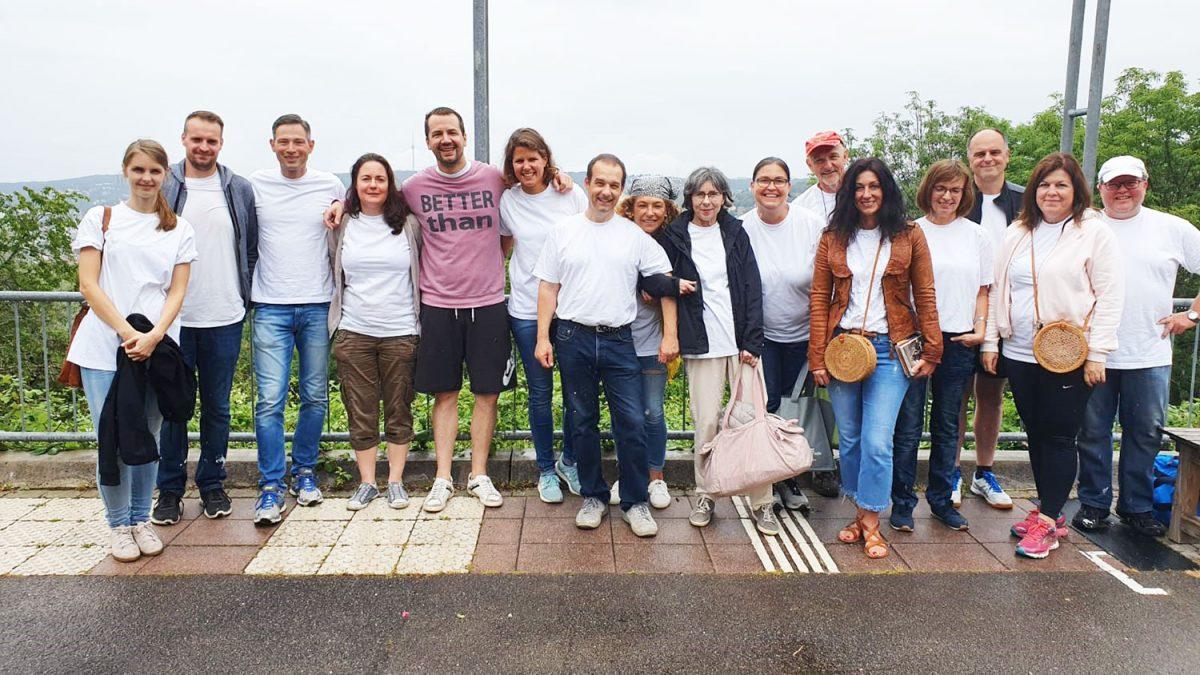 Wohnbau-Studio-Team beim Sozialen Tag