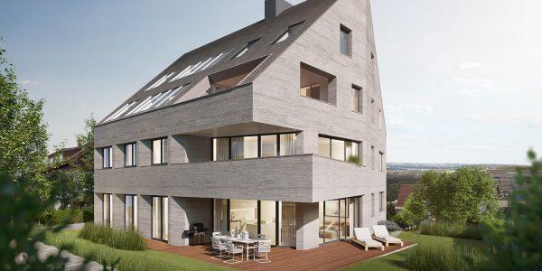 5,5-Zimmer Wohnung in Stuttgart Sillenbuch - Ansicht Garten